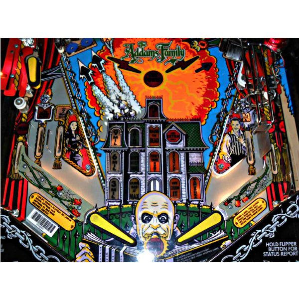 Addams Family Pinball Machine 5