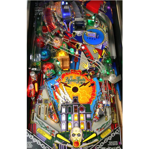 Addams Family Pinball Machine Playfield
