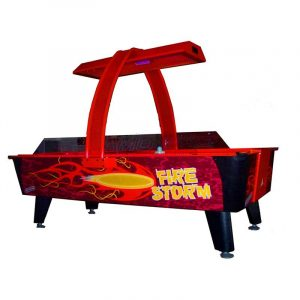 American Heritage Dynamo Fire Storm 300x300 - Dynamo Firestorm Air Hockey Table
