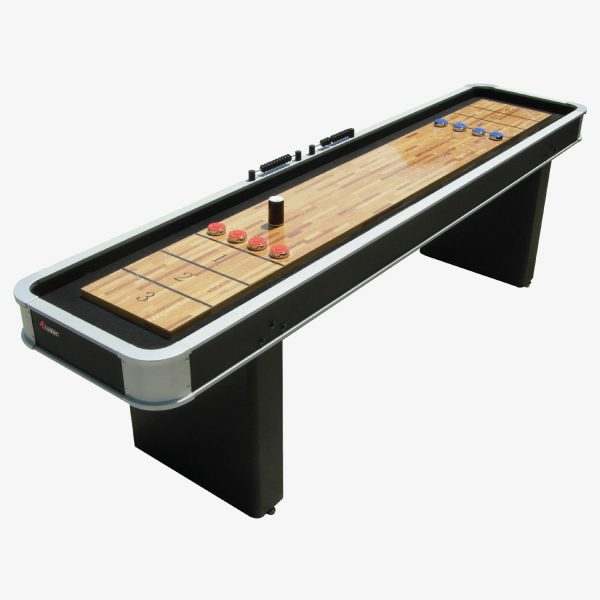 Atomic 9′ Platinum Shuffleboard Table