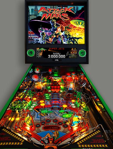Attach image 5 - Attack from Mars Remake Pinball Machine