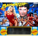 Baywatch Pinball Machine Backglass