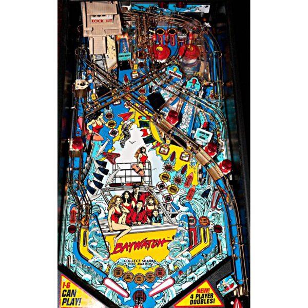 Baywatch Pinball Machine Playfield