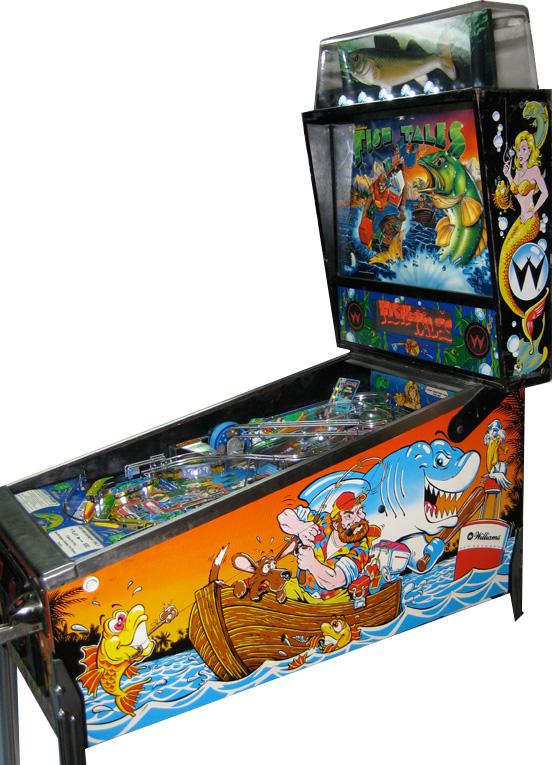 Fish Tales 2 - Fish Tales Pinball by Williams