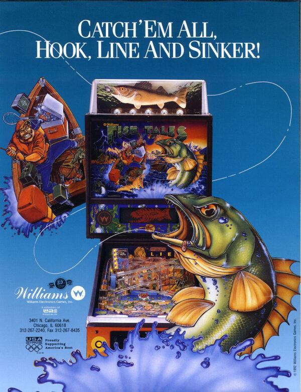 Fish Tales 7 600x780 - Fish Tales Pinball by Williams