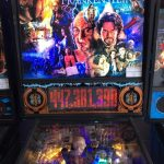 Frankenstein Pinball Machine Backglass