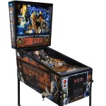 Mary Shelley's Frankenstein Pinball Machine by Sega