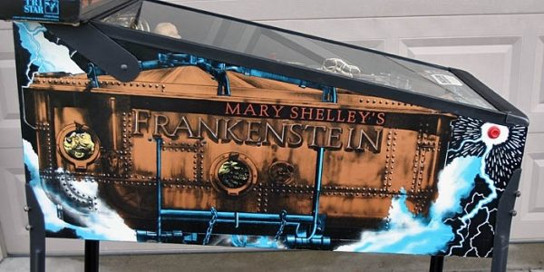 Frankenstien image 3 600x300 - Mary Shelley's Frankenstein Pinball Machine