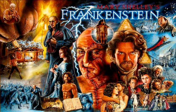 Frankenstien image 8 600x384 - Mary Shelley's Frankenstein Pinball Machine