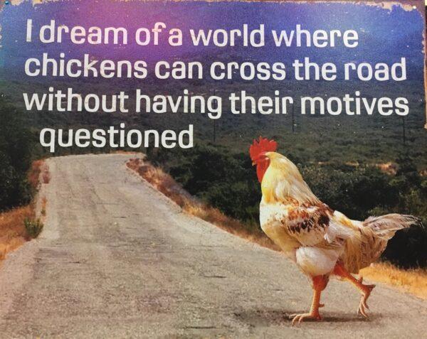 Funny Chicken Wall Art