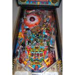 Judge Dredd Pinball Machine Playfield