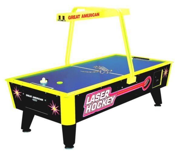 Laser Hockey 600x499 - Great American Laser Air Hockey Table