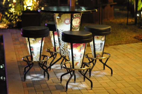 Light up table image 7 scaled 600x398 - Elite Light Up Table and Stools