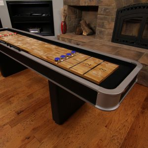 M01702AW alt 1 300x300 - Atomic 9' Platinum Shuffleboard Table