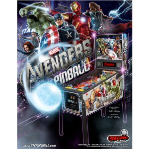 Marvel Avengers Pinball by Stern