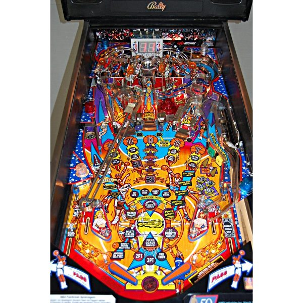 NBA Fastbreak Pinball 1 600x600 - NBA Fastbreak Pinball Machine