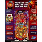 NBA Fastbreak Pinball Bally Midway