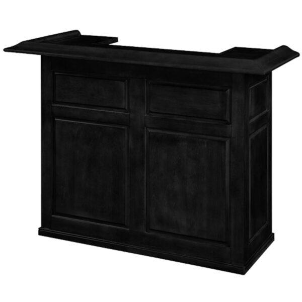 "RAM Game Room Home Bar 60 Inch Black 2 600x600 - Game Room Home Bar 60"" Black"