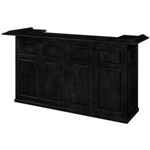"RAM Game Room Home Bar 84"" Black"