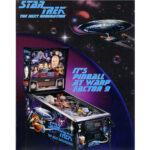 Star Trek Next Generation Pinball Flyer 1
