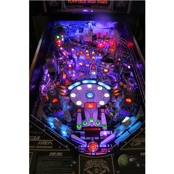Star Trek Next Generation Pinball Playfield