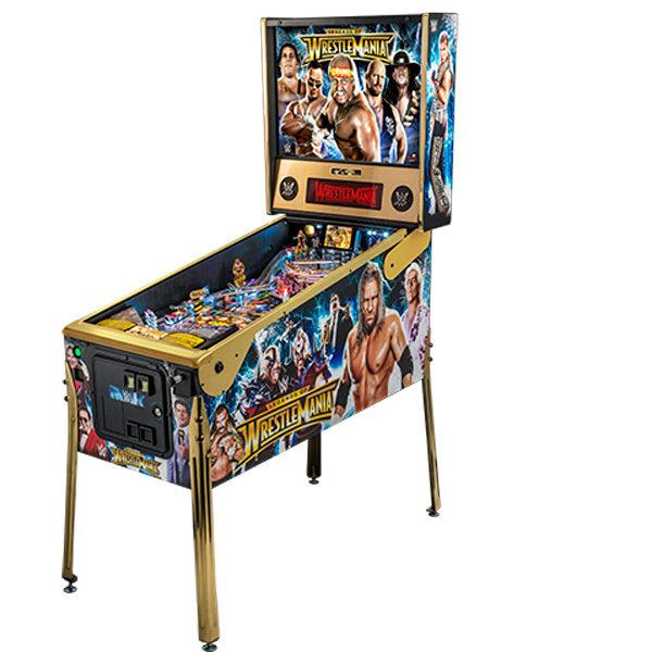 Legends of Wrestlemania Pinball Machine