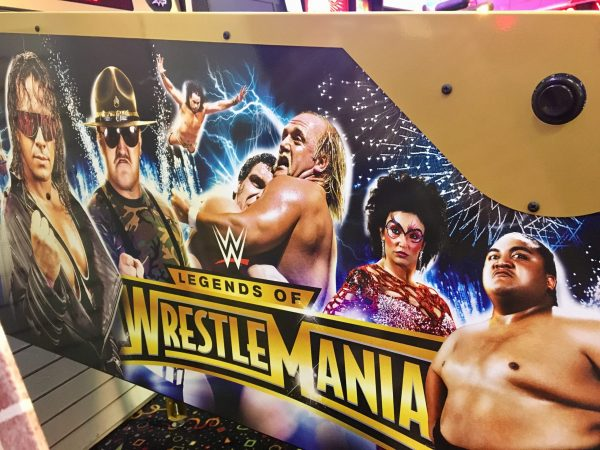 WWE image 4 scaled 600x450 - Legends of Wrestlemania Limited Edition Pinball Machine