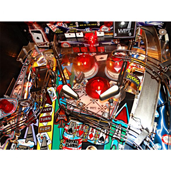 World Poker Tour Pinball 5 600x600 - World Poker Tour Pinball Machine