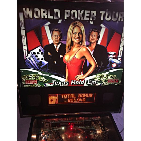 World Poker Tour Pinball Backglass 600x600 - World Poker Tour Pinball Machine