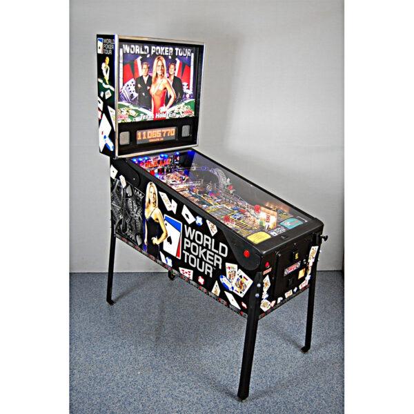 World Poker Tour Pinball Cover 600x600 - World Poker Tour Pinball Machine