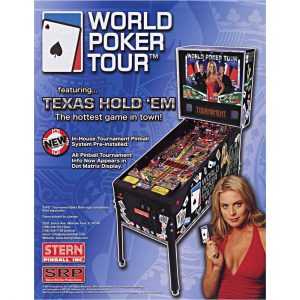 World Poker Tour Pinball Flyer 1 300x300 - World Poker Tour Pinball Machine