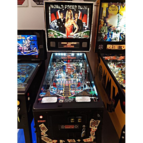 World Poker Tour Pinball Sarasota