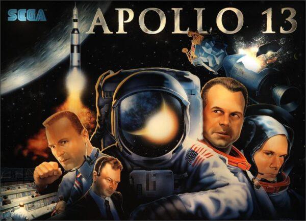 apollo image 5 600x434 - Apollo 13 Pinball Machine