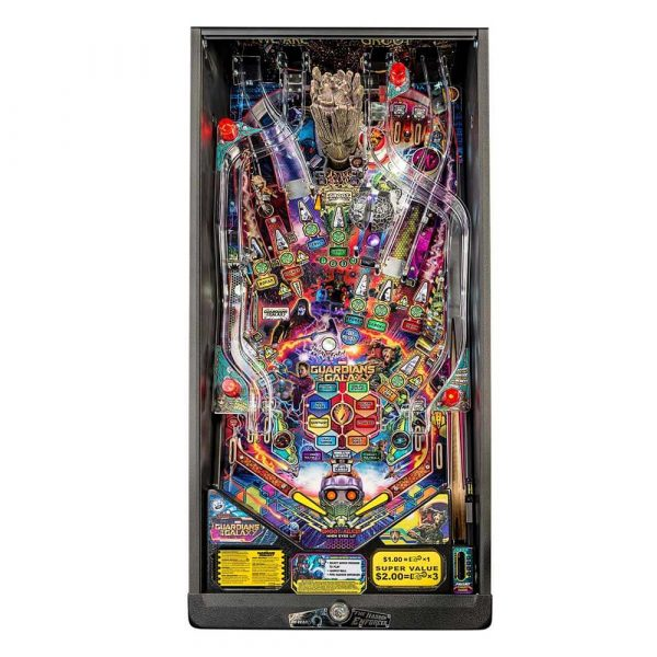 Guardians of the Galaxy Pro Pinball Playfield