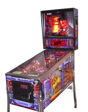 nightmare image 1 300x382 - Freddy: A Nightmare On Elm Street - Pinball Machine