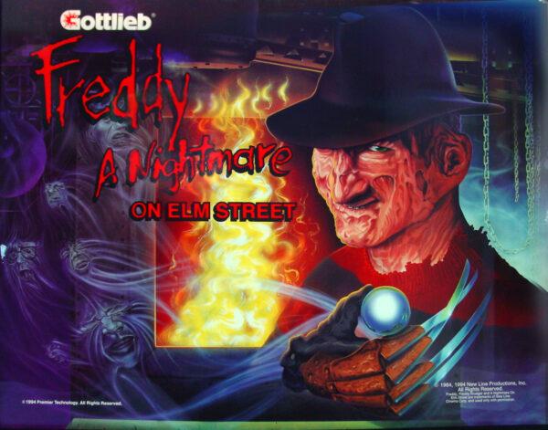nightmare image 6 600x471 - Freddy: A Nightmare On Elm Street - Pinball Machine