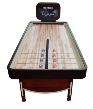 The Rebound Shuffleboard Table by Berner Billiards limited edition