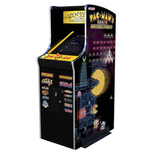 upright image 1 600x600 - Pac Mans Arcade Party Upright
