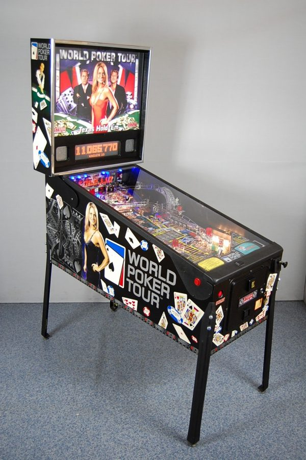 World Poker Tour Pinball Machine