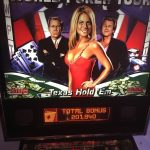 World Poker Tour Pinball Machine Backglass
