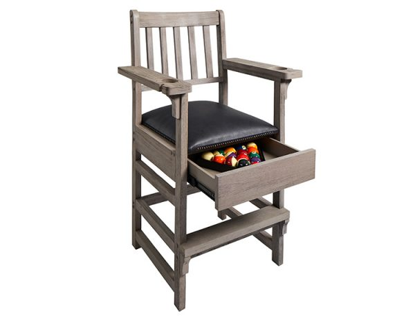 Barndoor Gray Spectator Chair Open 600x464 - King Spectator Chair