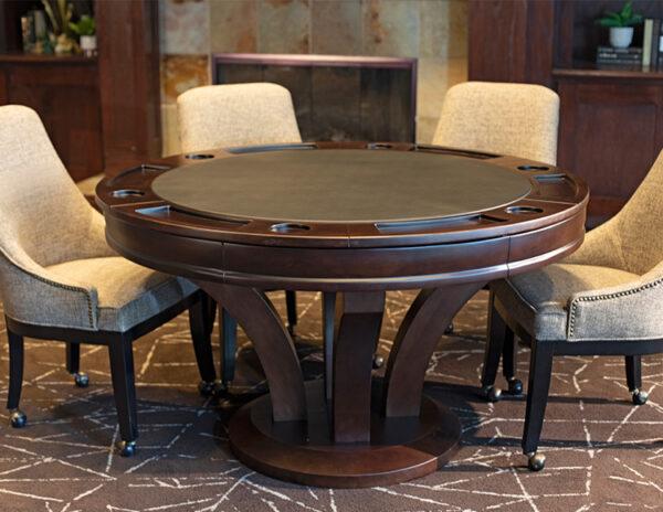 Hamilton Poker Table 600x464 - Hamilton Poker Table