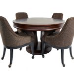 Hamilton Poker Table With Chairs