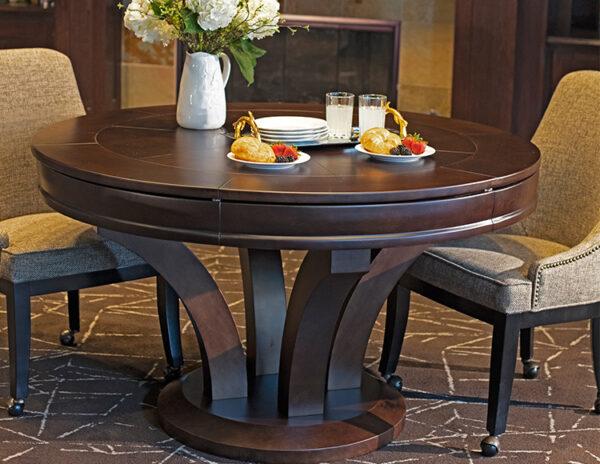 Hamilton Poker Dining Table 600x464 - Hamilton Poker Table