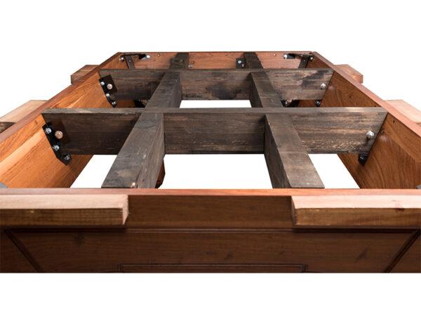 Internal cross beams 1 600x464 - Hartford Pool Table