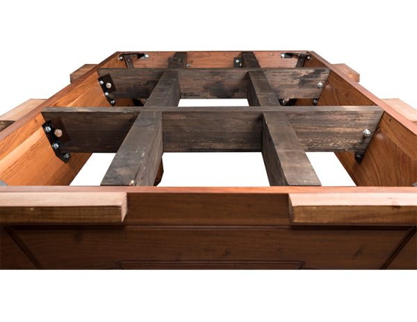 Internal cross beams 600x464 - Addison Pool Table