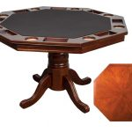 "Poker Table Only Main 150x150 - Octagonal 2-in-1 Poker Table (48"") Set with 4 Chairs"