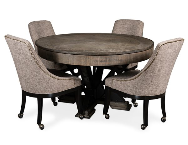 Vienna Table with Chairs 600x464 - Poker Table Game Chairs