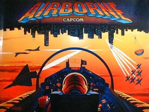 Airborne Pinball Machine by Capcom