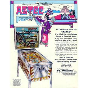 Aztec Pinball Machine